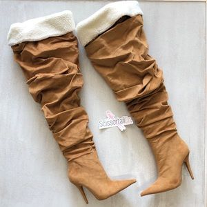 {Jeffrey Campbell} Igloo Slouchy Thigh High Boot